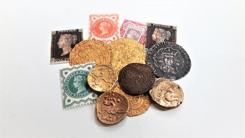 Coins, Stamps and Collectables