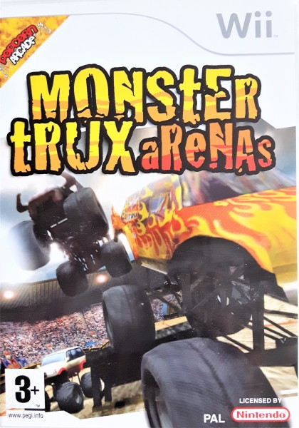 Monster Trux Arenas - Wii Game
